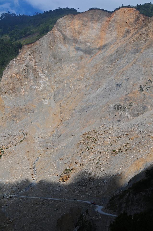 Landslide nr San Cristobal Verapaz,  Guatemala