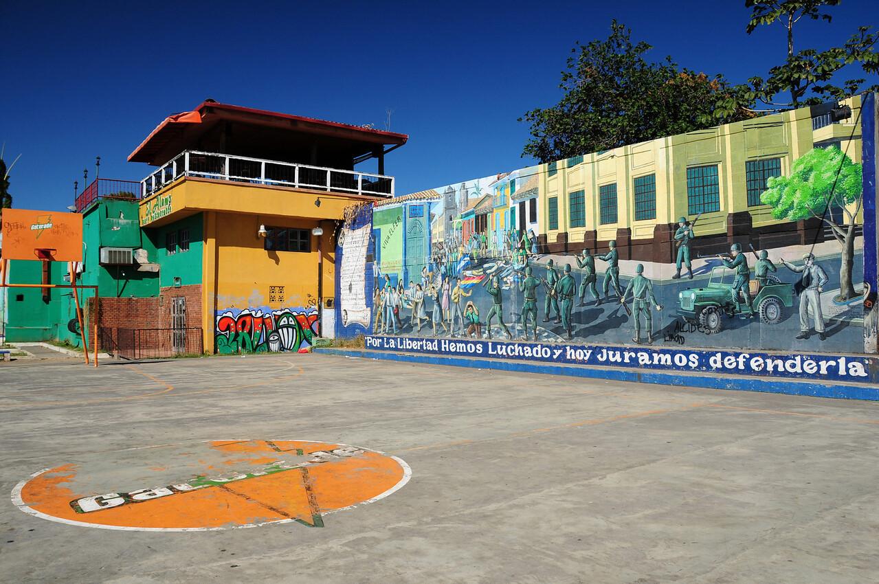 Civil War mural, Leon, Nicaragua