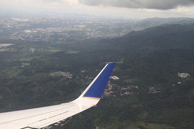 Making our way down toward Guatemala City (about 3 million residents)