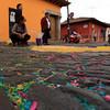 Aftermath. Semana Santa, Antigua, Guatemala