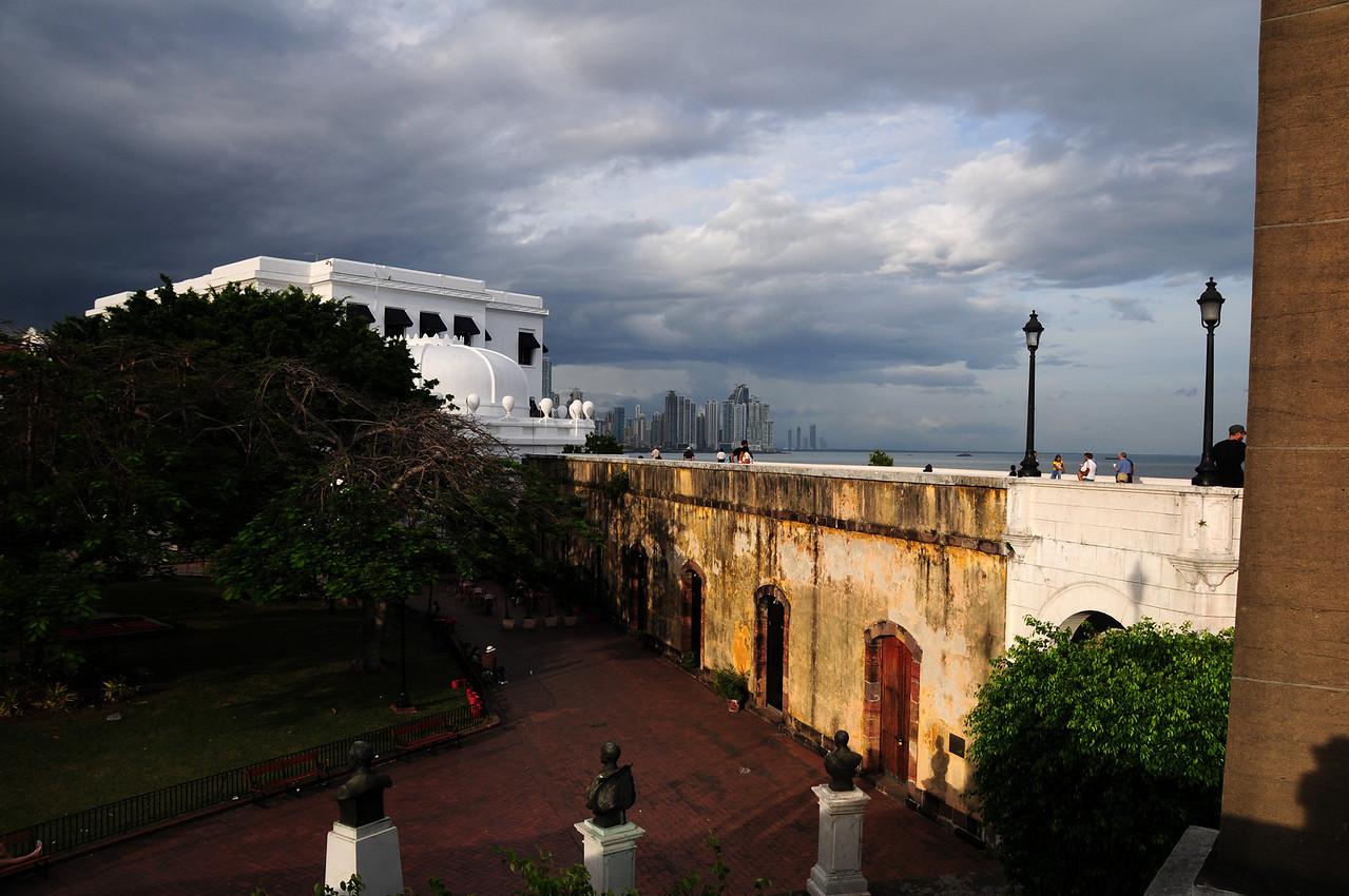 Panama City from San Felipe