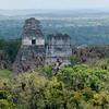 Tikal - Templo IV to Templo II