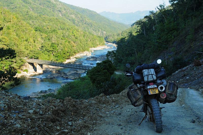 Rio Cahabon,  Panzos - Lanquin road.  Guatemala