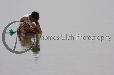 Trying to catch dinner. This guy really impressed me with his concentration. El Remate, Guatemala.