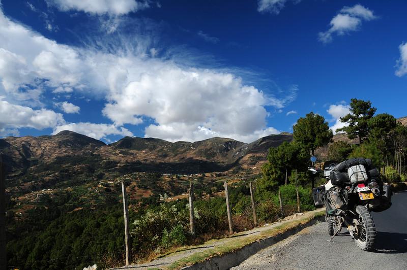 Above Chiantla nr Huehuetenango.  Guatemala