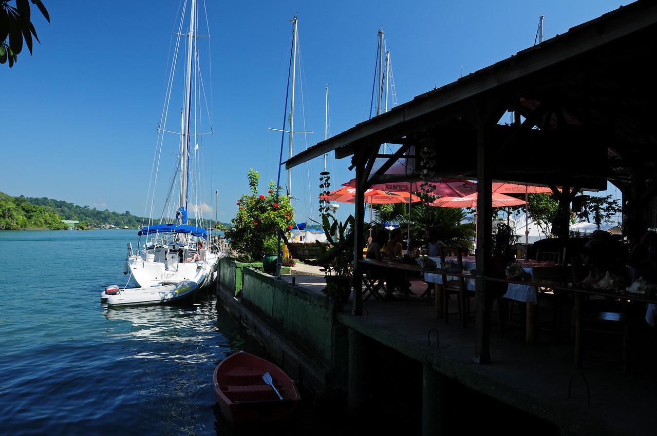 Bruno's Restaurant,  Rio Dulce, Guatemala