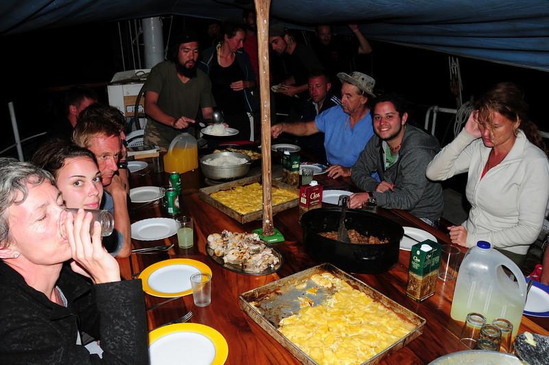 Dinner on the Stahlratte