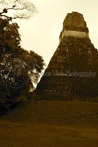 Temple II. Tikal, Guatemala.