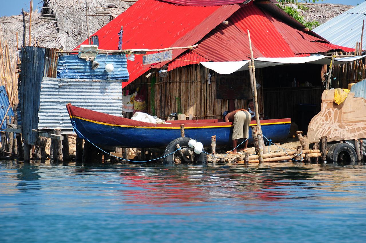 Kuna Village of Uuargandub,  San Blas Islands