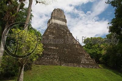 Temple I.  Tikal, Guatemala.