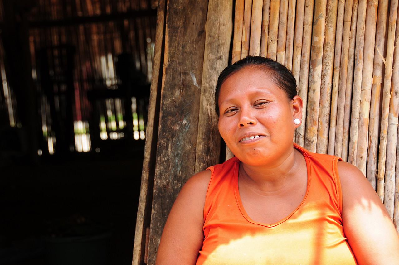 Kuna chef in the village of Uuargandub
