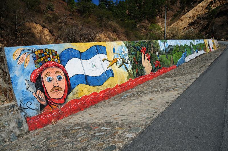 Sandanista graffiti, Nicaragua