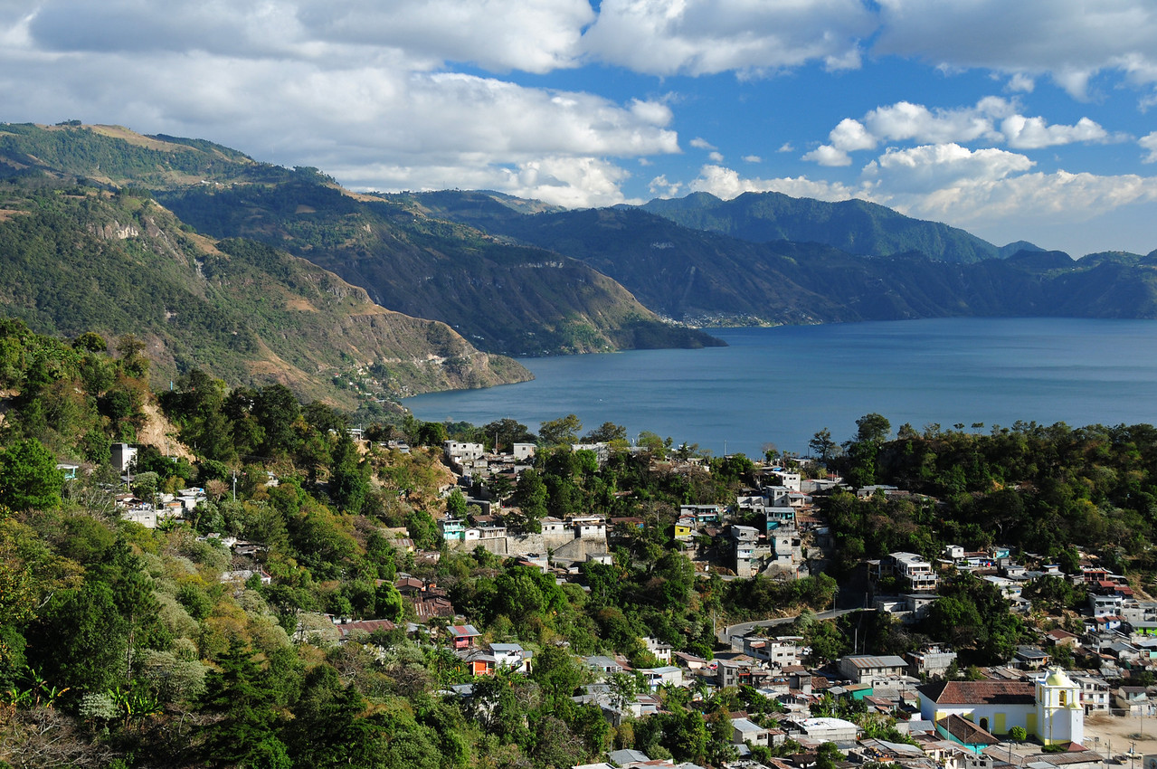 Panajachel,  Lago Atilan.  Guatemala