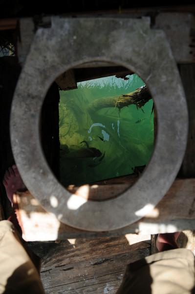 Kuna village toilet