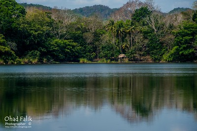 Guatemala, Peten Plain, Lake Flores