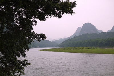 Looking North from Yangshou