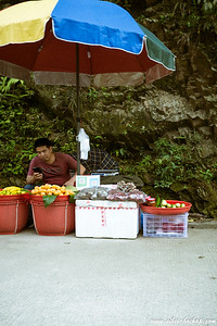 selling fruits