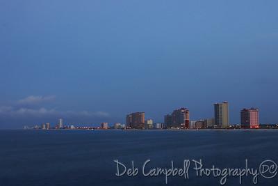 Early morning at  Gulf Shores, Alabama