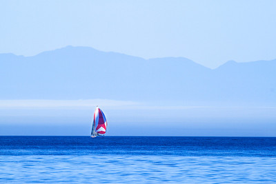 Sailing the waters of the Canadian Gulf Islands