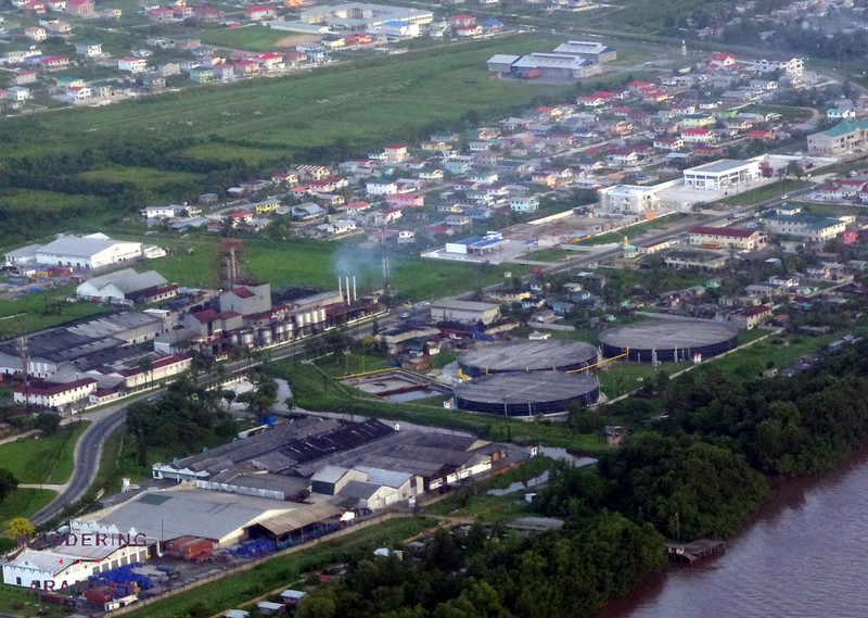 The Diamond sugar processing facility