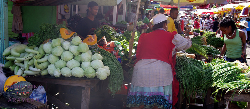 Produce at Stabroek Market