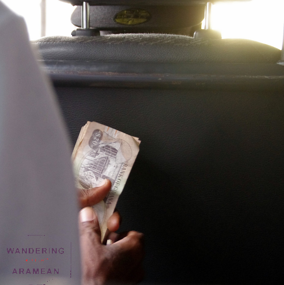The local mini-bus service is all cash, all the time. Guys walking around with huge wads of currency is quite common.