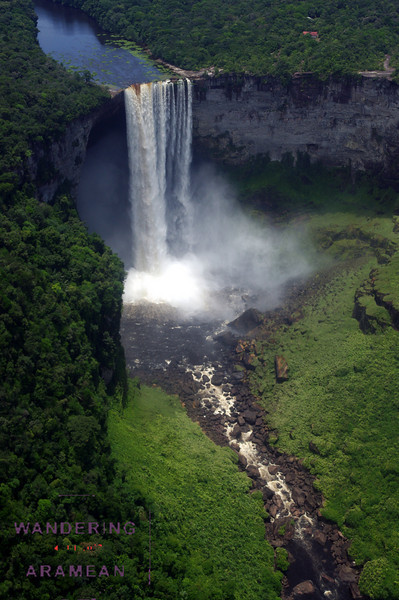 Kaiteur Falls from above. Awesome.