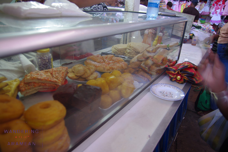 Snacks for sale in Stabroek