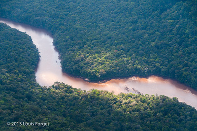Flying to Kaieteur Falls