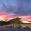 Sunset, Gwanghwamun Gate