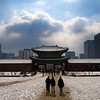 Gyeongbokgung in the Snow :