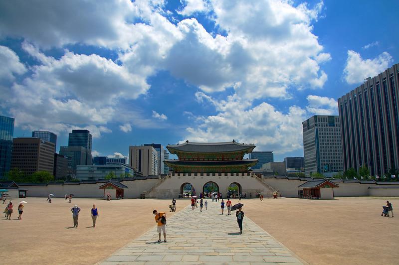 Gwanghwamun Gate, Gyeongbokgung Palace