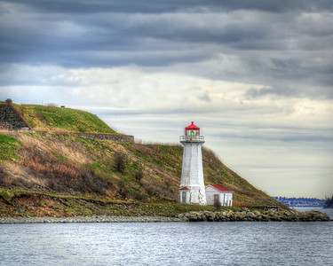LIGHTHOUSE, GEORGES ISLAND, HALIFAX NS, CANADA