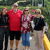 First stop after leaving the airport - with Sons of the American Legion State Commander Mike Talty, his wife Jackie and her mother Judy
