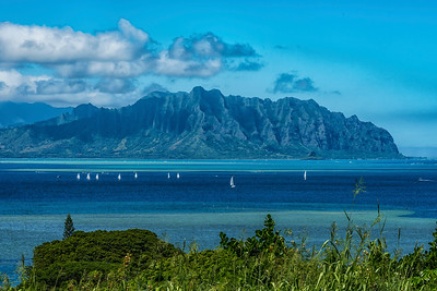 Sailing Kaneohe Bay 0432