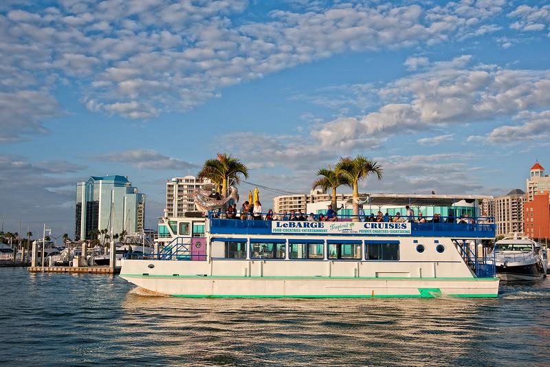 LaBarge Cruises Sarasota Florida