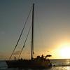 Sailing off Waikiki beach
