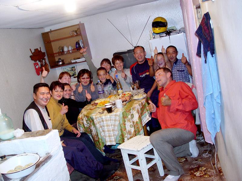 Buryate family