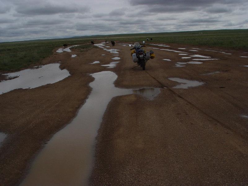 DSC03132First road in Mongolia