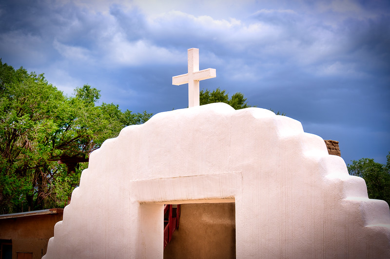 SAN GERONIMO CHURCH, TAOS PUEBLO