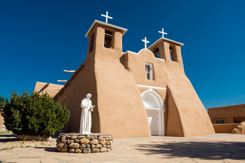 FRONT OF RANCHO CHURCH