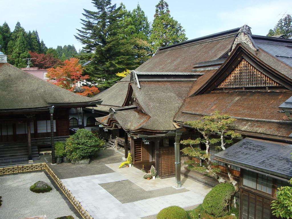 Yochiin Temple on Mount Koya