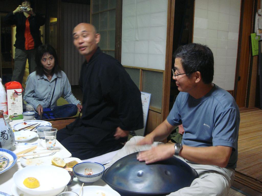 Gyoja priest Kosho entertains