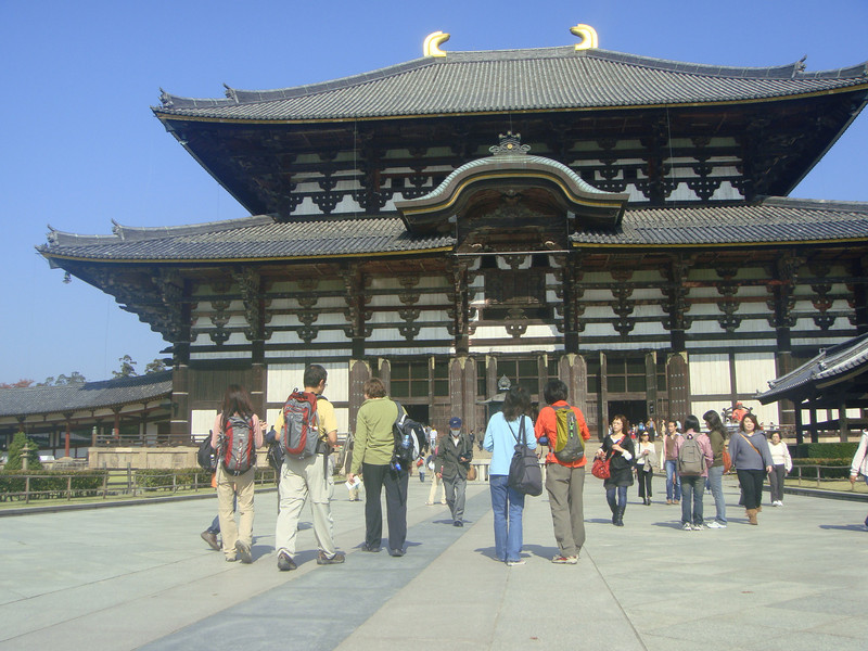 At Todaiji Temple in Nara