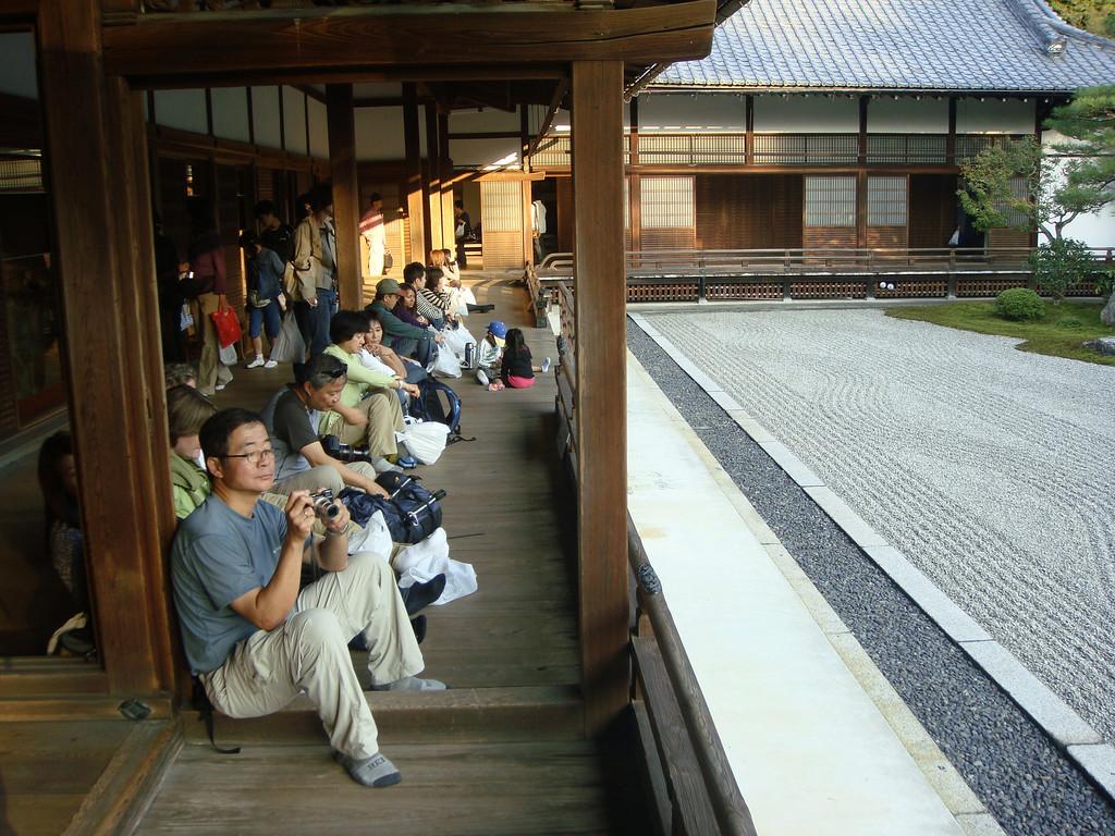 Viewing Nanzenji temple garden