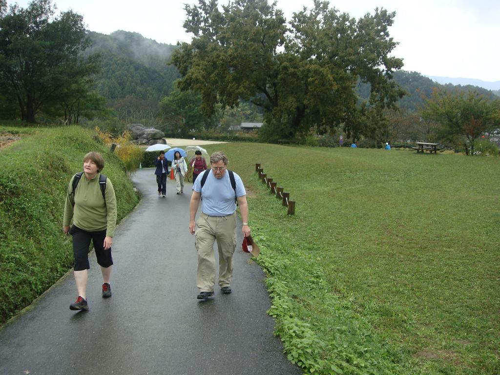 Hiking in Asuka
