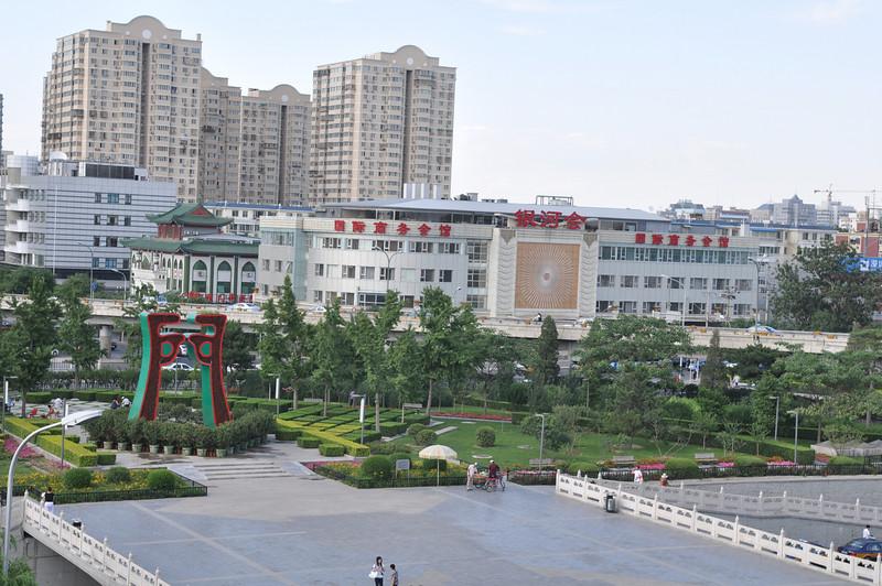 城門外,德勝門,北京