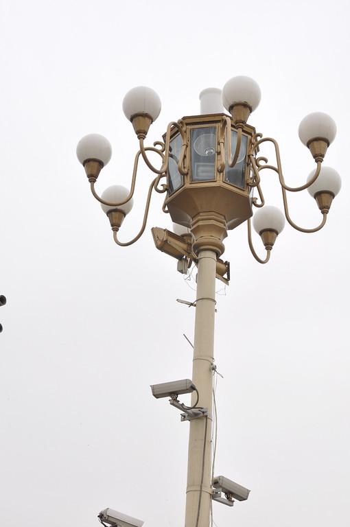 Lamp Post, Tienanmen Square, Beijing