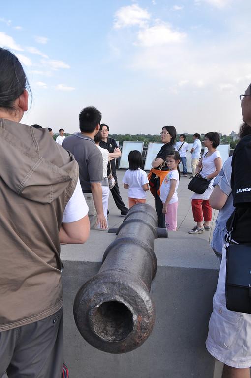 砲,德勝門,北京