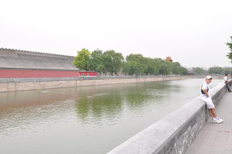 護城河,景山公園,北京
